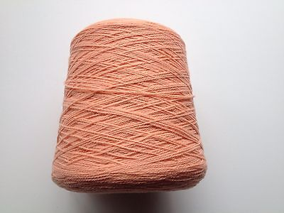 Busby Acrylic Hand/Machine Knitting Wool Cone 4Ply 500gms - Apricot