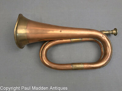 Antique Copper and Brass Bugle