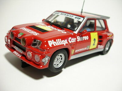 SCX Original 63840 Renault 5 Maxi Turbo 1/32 slot car new