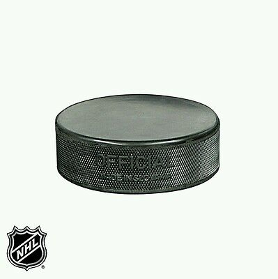 2 x Official NHL Ice Hockey Puck
