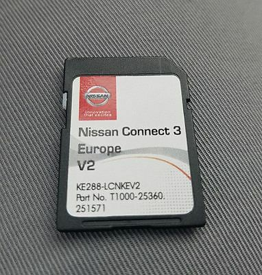 Nissan Connect LCN2 (3° Versione), Nissan Connect 3 SD CARD 2017 Europe Map V2