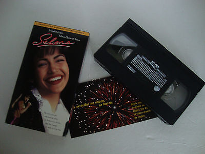 ~SELENA~Jennifer Lopez~ Edward James Olmos~VHS~VERSION IN SPANISH ESPANOL