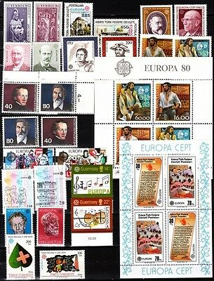 EUROPA CEPT. 1978-1990, MNH. Wahlen / Choice offer