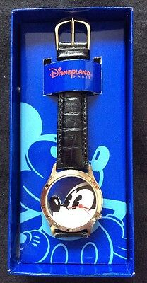 Disneyland Paris Vintage Genuine Leather Mickey Mouse Watch