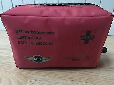 Mini Cooper BMW Trousse de premier secours First Aid Kit Verbandtasche