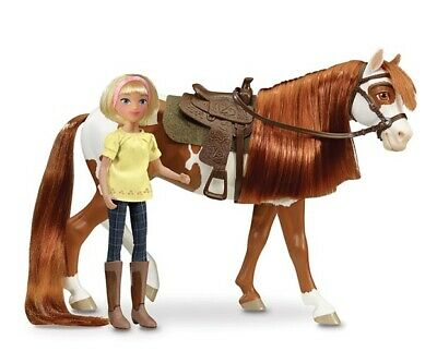 BREYER SPIRIT COLLECTION #9204 Boomerang and Abigail Gift Set - Classic Scale H