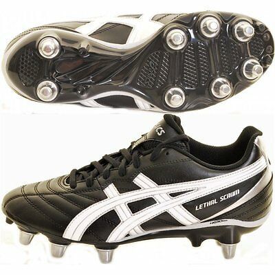 chaussure rugby asics lethal scrum p031y NEUVE taille 41,5