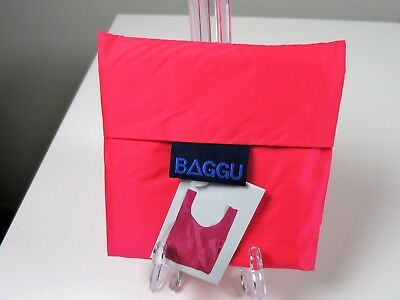 Baggu Standard Reusable Shopping Bag Tote Eco Friendly Several Colors NWT