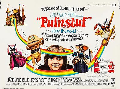 "HR Pufnstuf 16"" x 12"" Reproduction Movie Poster Photo"