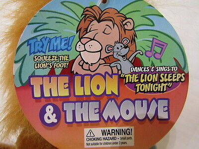 The Lion & The Mouse, Singing & Danceing, The Lion Sleeps Tonoght,2001 Vintage