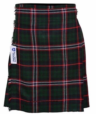 Scottish National Men's 5 Yard 13 Oz Casual Wear Kilt