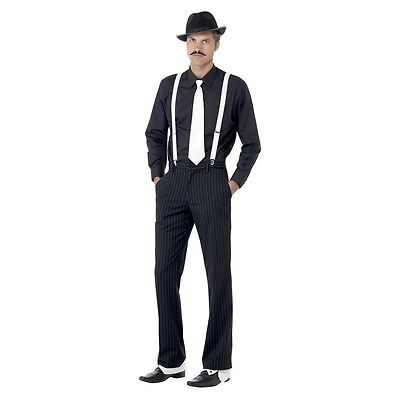 Instant Gangster Kit Costume Accessory Kit Adult Halloween