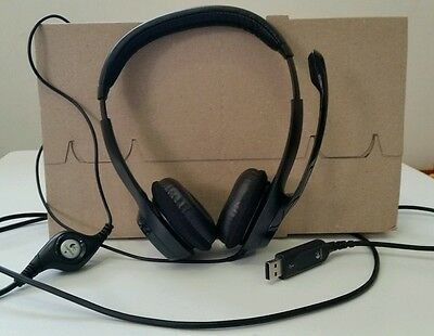 Logitech H390 A-00009 USB Headset with Noise Cancelling Microphone for PC Mac