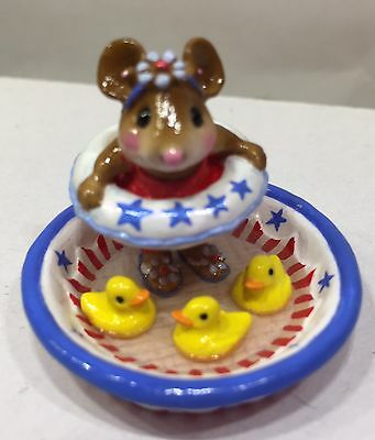 Wee Forest Folk Ducky Dip  ( 7 DAY LISTING ) RETIRED LIMITED