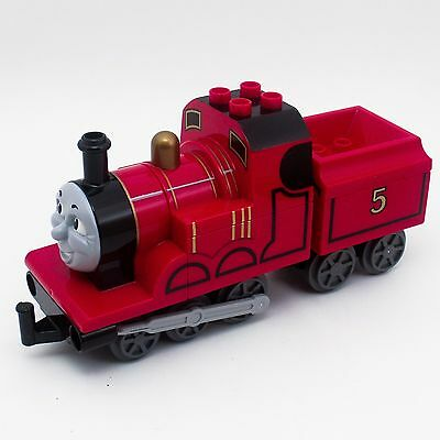 Lego Duplo Thomas and Friends Red James #5 with Tender Red Car