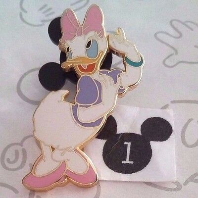 Daisy Duck Hand to Ear Listening Standing Posing Core WDW Disney Pin Buy 2 Save