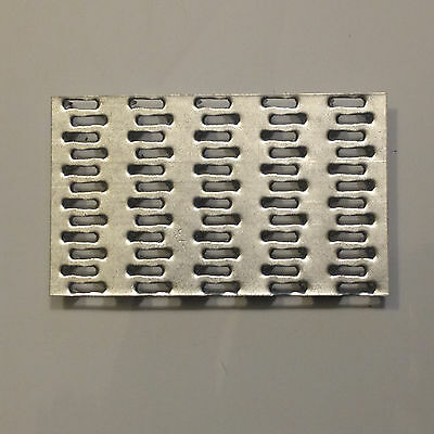 """50 QTY  3"""" x 5""""  Truss Plate - Mending Plate -Structural Plates Zinc nail tooth"""