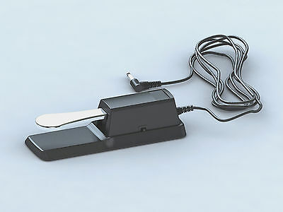 Piano Damper Sustain Pedal Foot Switch for Electric Yamaha Casio Roland Keyboard