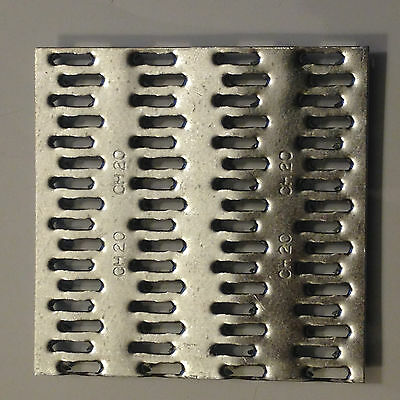 """50 QTY  4"""" x 4""""  Truss Plate - Mending Plate -Structural Plates Zinc nail tooth"""