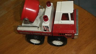 Collectable Buddy L tin toy Fire Dept truck with Search Light made in Japan