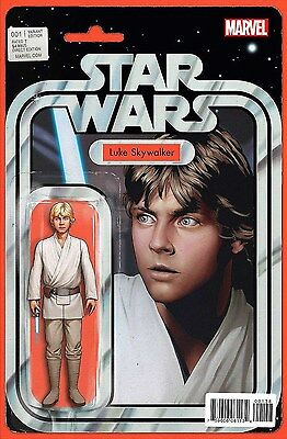 Star Wars #1 John Tyler Christopher LUKE SKYWALKER Action Figure Variant Marvel