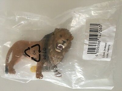 Schleich Roaring Lion Toy Action Figure Miniature Model Cake Topper Craft NWT