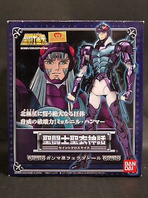"BANDAI  Saint Seiya Cloth Myth ""Asgard/God Warrior"" Gamma Phecda Thor figure"