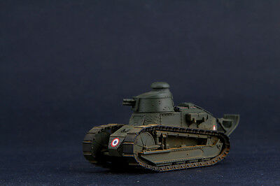 Built/Painted FlyHawk FH3000-1 1/72 WWI French Army FT-17 Cast Turret w/37mm gun