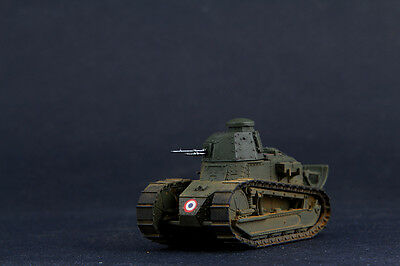 Built/Painted FlyHawk FH3001-1 1/72 WWI French Army FT-17 Riveted Turret with MG