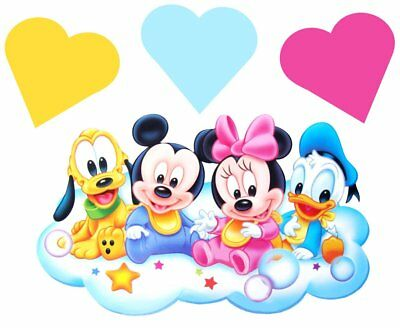 Baby Disney Movable Wall Stickers