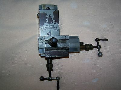 Wolf Jahn & Co 8mm Compound Cross Slide Watchmaker Lathe Tool