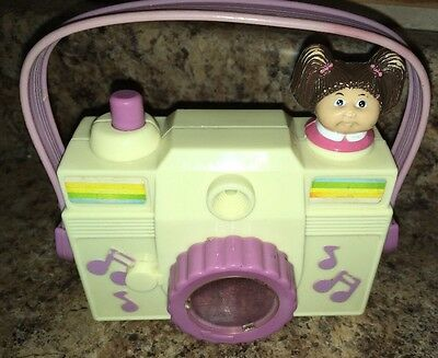1984 Cabbage Patch Kids Camera Music Box - 1980s Vintage