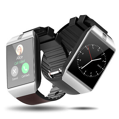 DZ09 Bluetooth Smart Watch Phone SIM Card For Android/IOS HTC Samsung Pedometer