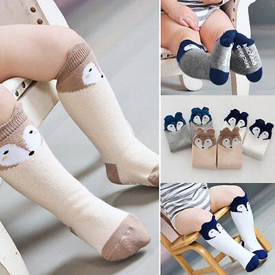 Infant Baby Kid Fox Knee High Socks Toddler Boy Girl Tights Leg Warm Stockings