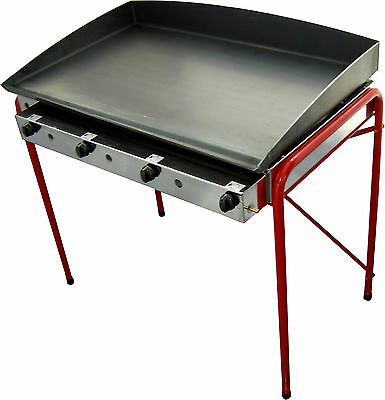 CATERING Lpg Griddle - 100x50 cm - LPG Gas  Griddle -Hot Plate- Barbecue -BBQ