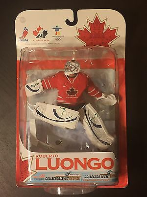 McFarlane Team Canada ROBERTO LUONGO Action Figure Red Variant Chase NHL