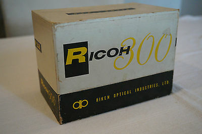 Vintage RICOH 300 camera original with box and papers, case good condition