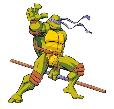 TMNT Donatello Movable Wall Stickers