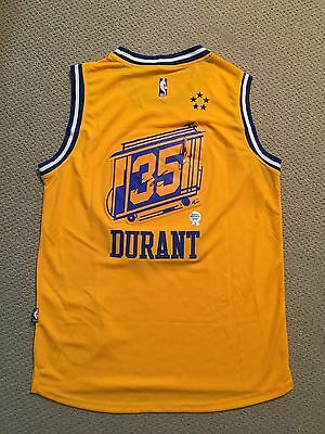 Kevin Durant & Stephen Curry Dual Signed Gsw Adidas Jersey Coa / Holo