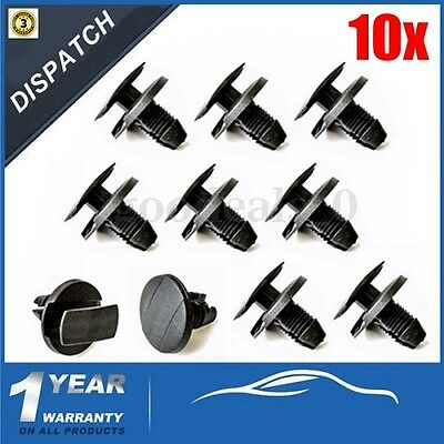 10 x Wheel Arch Lining Splashguard Trim Clips For Peugeot 207 307 206 -856553
