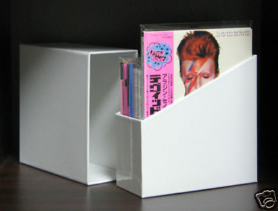 WHITE EMPTY BOX FOR JAPAN (8 to 14) MINI LP CDs