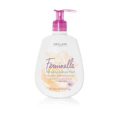 1x ORIFLAME Sweden Feminelle Refreshing Intimate Wash Rose Water 300ml