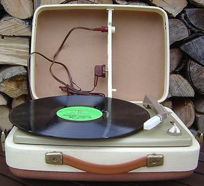 Philips NG 1346 95a Koffer Plattenspieler Turntable 1958 NG/1346/95a Rare