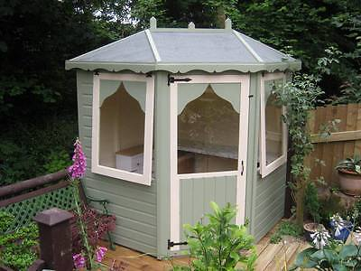 6x6 summerhouse corner home office insulated double glazed options