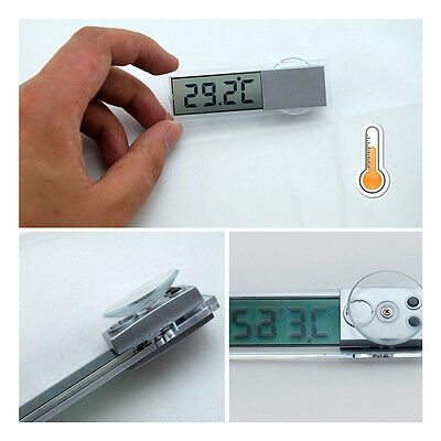 5X(Osculum Type LCD Vehicle-mounted Digital Thermometer Celsius Fahrenheit) FT