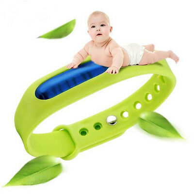 Safe Baby Kids Anti Mosquito Insect Repellent Bracelet Wristband Bands Summer
