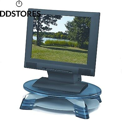 Fellowes LCD Monitor Riser Pied pour structure plate gris, graphite translucide
