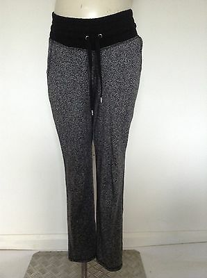 [463] H&M Maternity Grey/Black Joggers / Casual Trousers Size S (8-10)