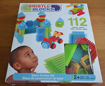 Bristle Blocks - 112 Pieces Excellent Condition