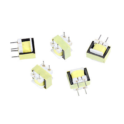 5PCS Audio 1300 : 8 Ohm Transformer EE14 Transformateur POS Transformador YS